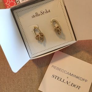 Stella & Dot Maika Earrings by Rebbeca Minkoff
